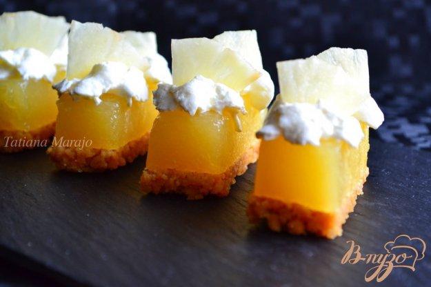 Рецепт Ананасовые пирожные