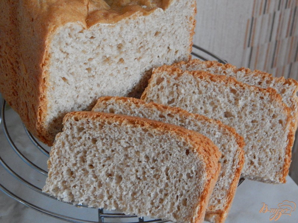 Фото приготовление рецепта: Пшенично-ржаной хлеб в хлебопечке шаг №5