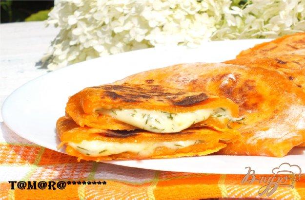 Рецепт Томатные лепешки с сыром