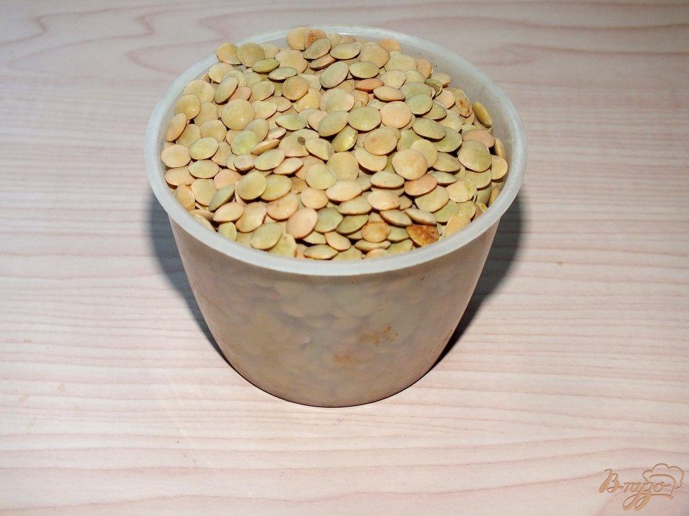 Фото приготовление рецепта: Чечевичная похлебка с тыквой из мультиварки шаг №7