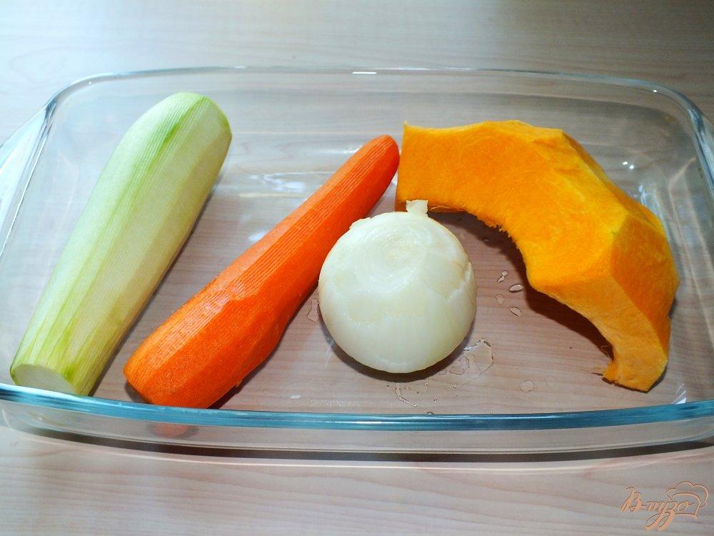 Фото приготовление рецепта: Чечевичная похлебка с тыквой из мультиварки шаг №1