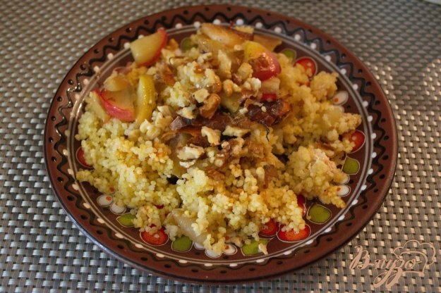 Рецепт Пшенная каша томленая в духовке с яблоком