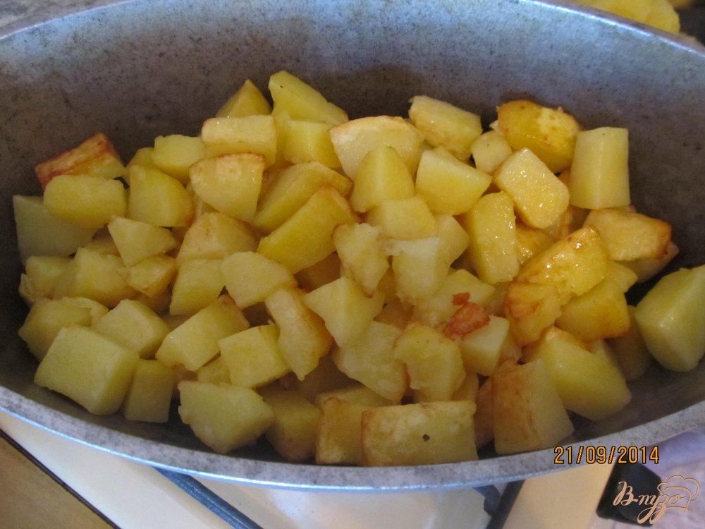 Фото приготовление рецепта: Овощное рагу с мясом летнее шаг №8
