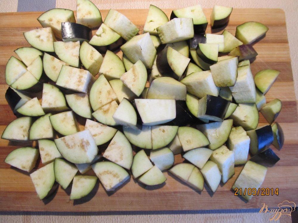 Фото приготовление рецепта: Овощное рагу с мясом летнее шаг №2