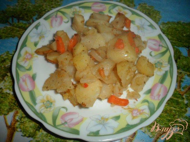 фото рецепта: Жаренный картофель в рукаые для запекания