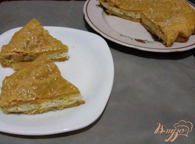 фото рецепта: Пирог с плавленным сырком