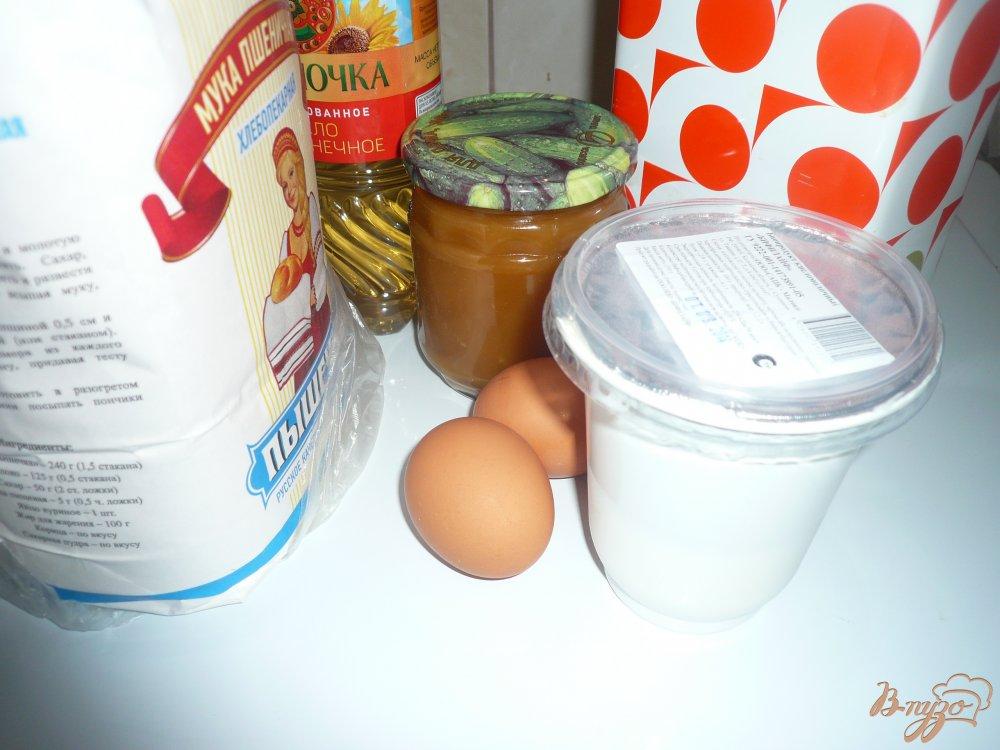 Фото приготовление рецепта: Блинчики с медом шаг №1