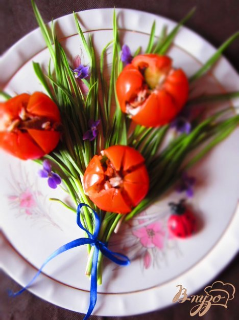 """Рецепт Закуска """"Весенний букет"""""""
