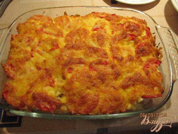 Рецепт Картофель с мясом по-французски