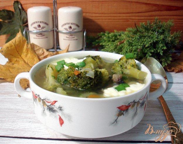 фото рецепта: Зелёный суп