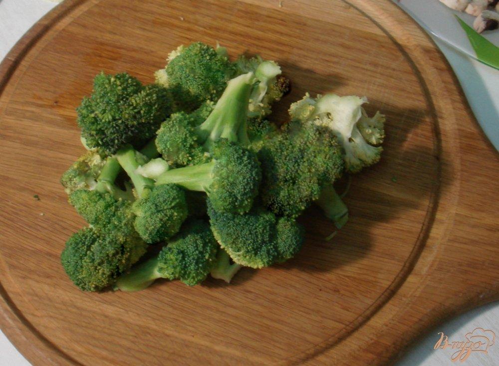Фото приготовление рецепта: Зелёный суп шаг №5
