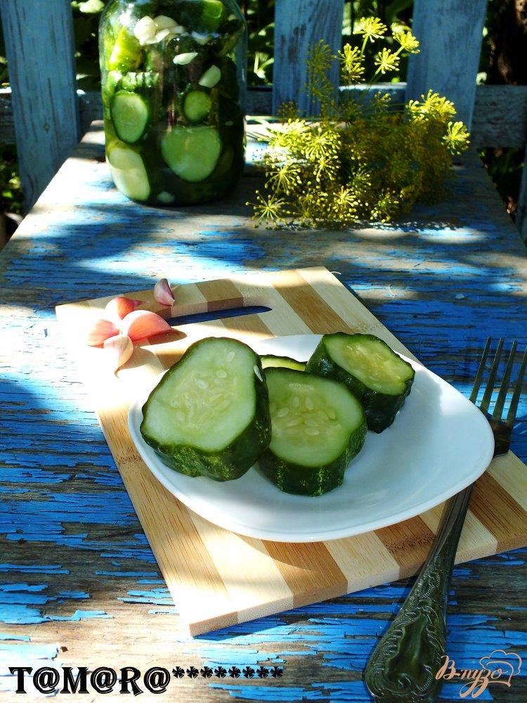 Фото приготовление рецепта: Огурчики