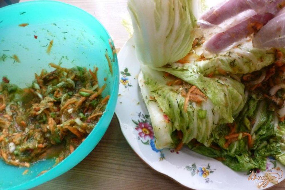 Фото приготовление рецепта: Кимчи шаг №5