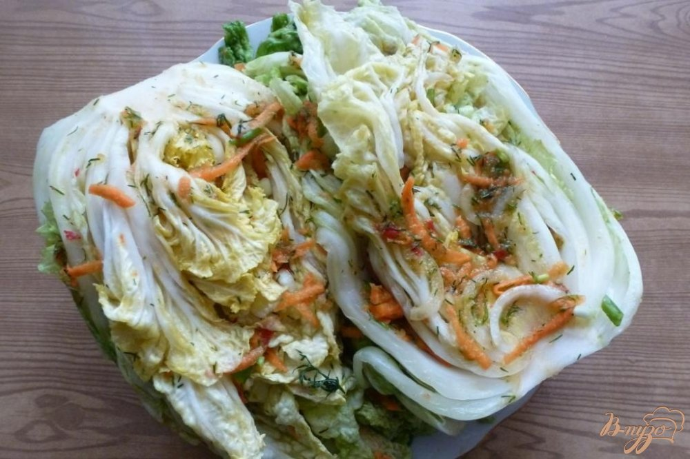 Фото приготовление рецепта: Кимчи шаг №6