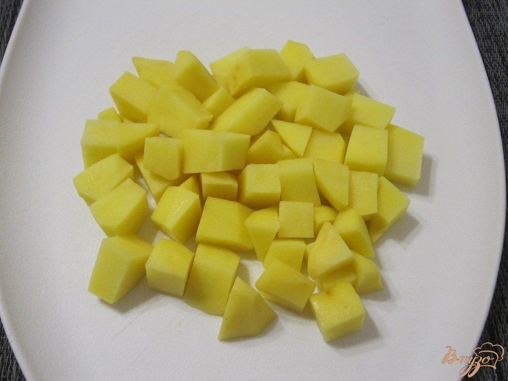 Фото приготовление рецепта: Ароматный суп-харчо шаг №4