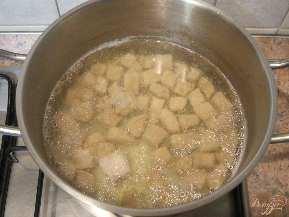 Фото приготовление рецепта: Ароматный суп-харчо шаг №3