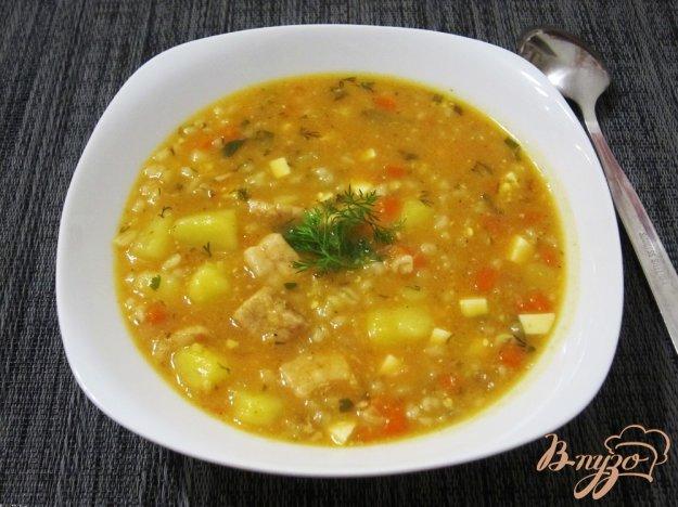 Рецепт Ароматный суп-харчо
