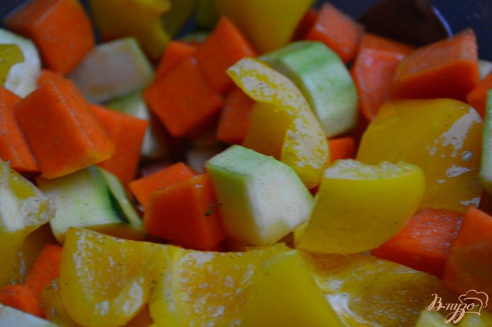 Фото приготовление рецепта: Суп-пюре из печеных овощей с булгуром шаг №1