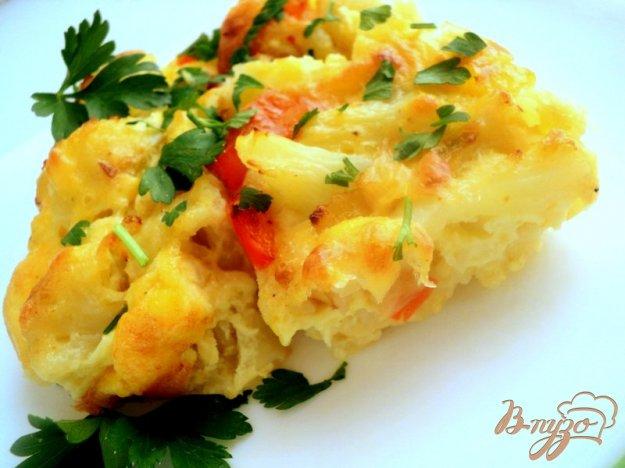 Рецепт Цветная капуста под сырным соусом
