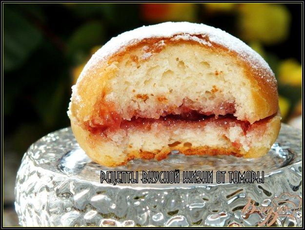 Рецепт Пончики с джемом из духовки