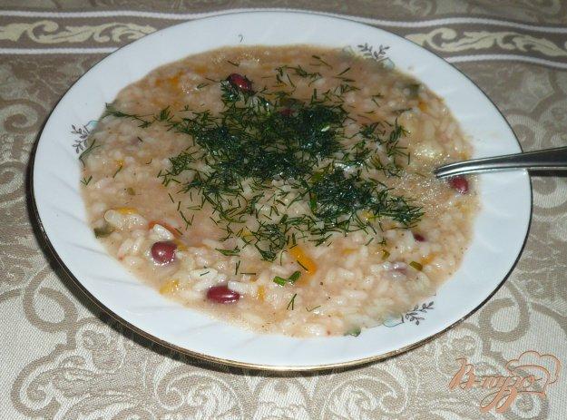 фото рецепта: Похлебка с фасолью и цветной капустой