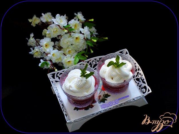 фото рецепта: Кисель из овсяных хлопьев и вишни