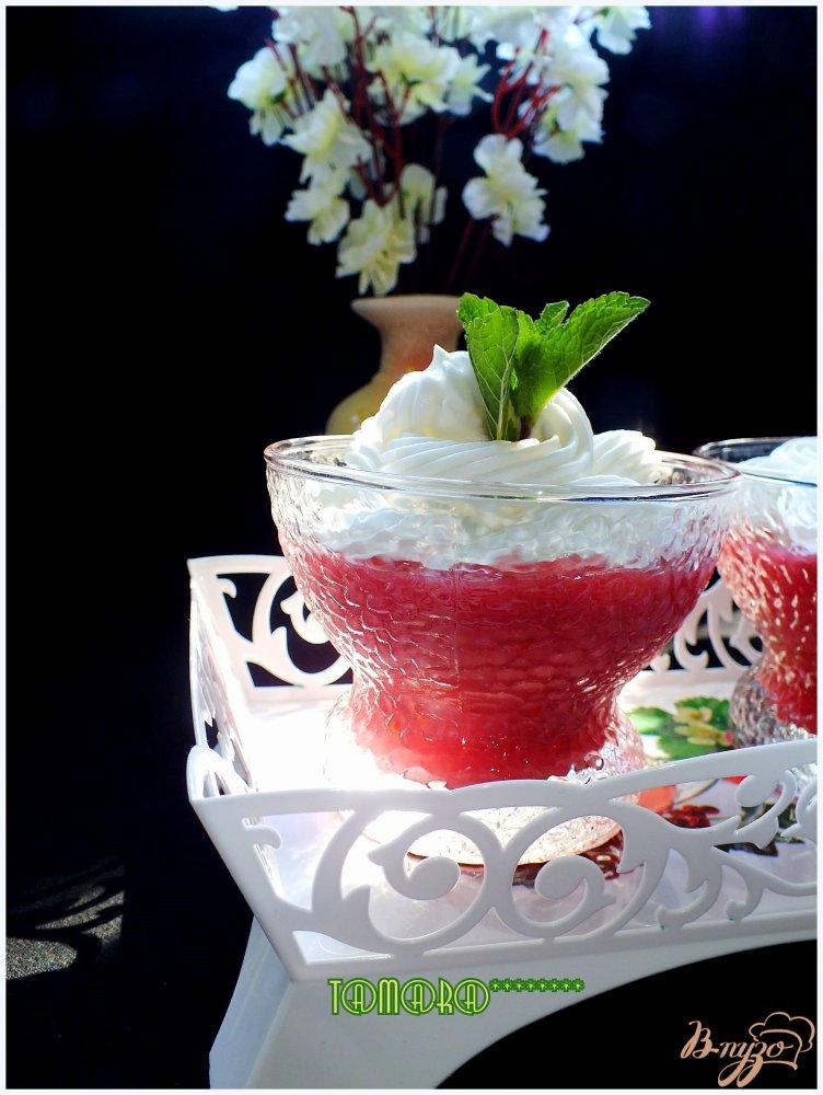 Фото приготовление рецепта: Кисель из овсяных хлопьев и вишни шаг №7