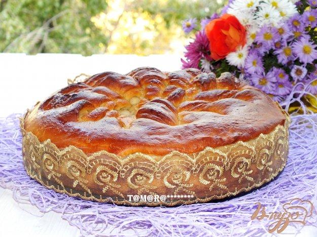 Рецепт Узорчатый пирог с сахаром