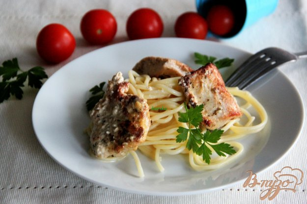 Рецепт Филе индейки в горчично-яичном маринаде