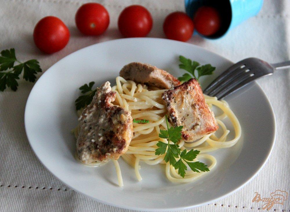 Фото приготовление рецепта: Филе индейки в горчично-яичном маринаде шаг №6