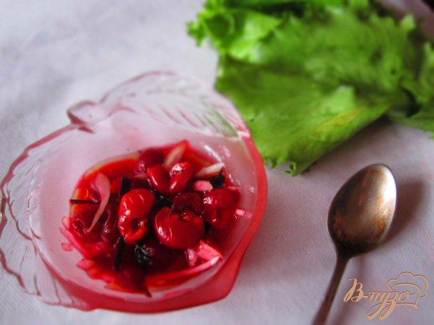Рецепт Салат с вишней