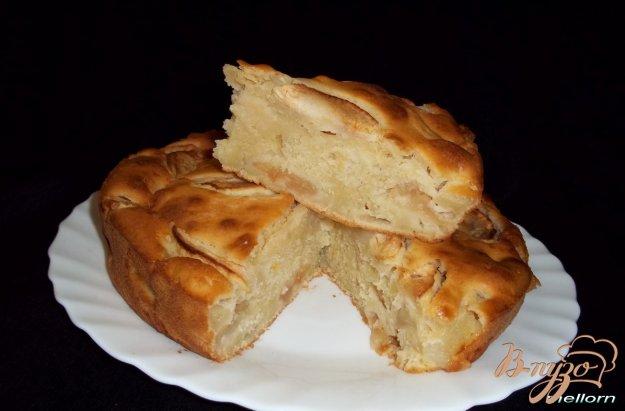 Рецепт Лимонный пирог с яблоками