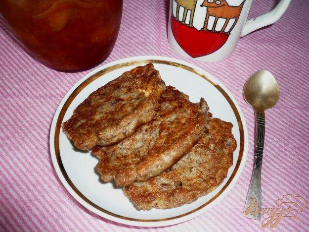Рецепт Овсяные оладушки с льняной мукой