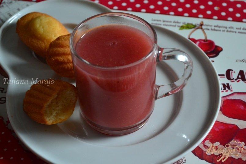 Фото приготовление рецепта: Фруктовый кисель  с медом шаг №6