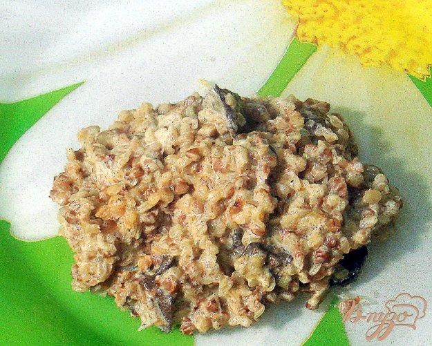 Рецепт Гречка с грибами по новому