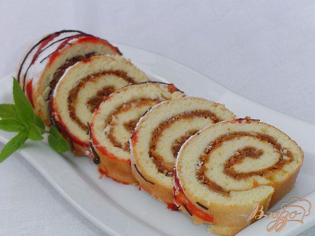 фото рецепта: Яблочный рулет