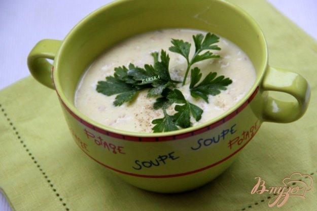 фото рецепта: Кабачковый сливочный суп с овсяными хлопьями