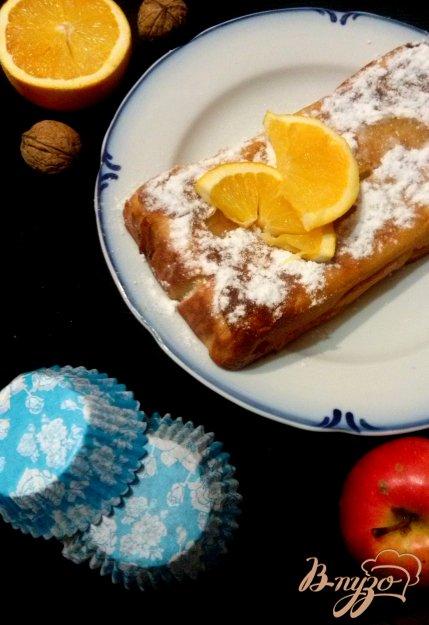 Рецепт Кекс с яблоками и апельсиновой цедрой
