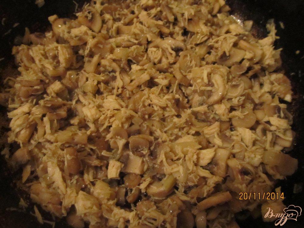 Фото приготовление рецепта: Гнезда из спагетти шаг №3