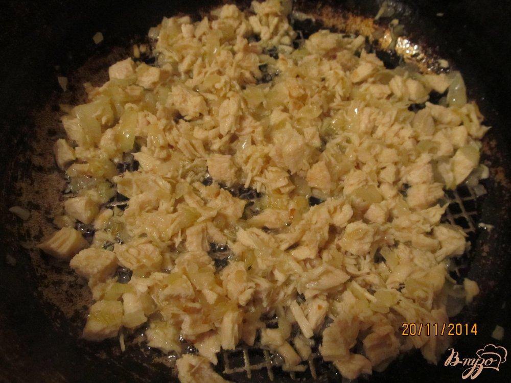 Фото приготовление рецепта: Гнезда из спагетти шаг №2