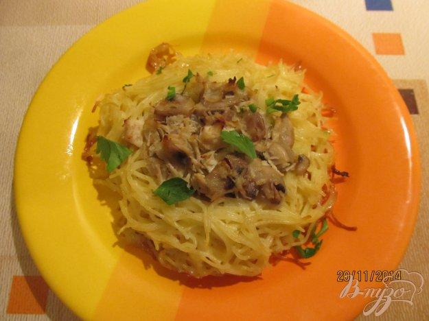 Рецепт Гнезда из спагетти