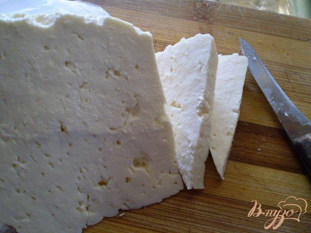 Фото приготовление рецепта: Картофель со спаржевой фасолью и сыром шаг №6