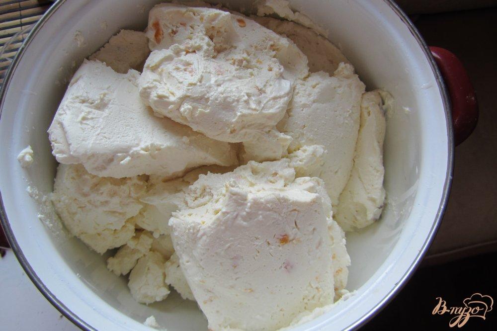 Фото приготовление рецепта: Сырники с курагой из творожной массы шаг №1