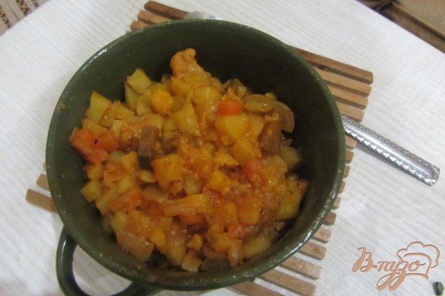 Рецепт Баклажаны тушенные с овощами по-селенски