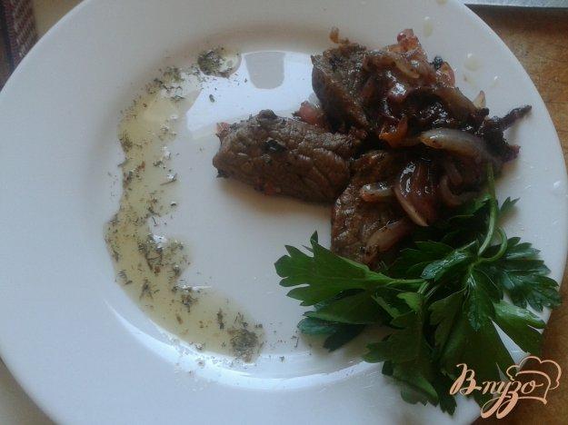 Рецепт Говядина со сливами и средиземноморскими травами