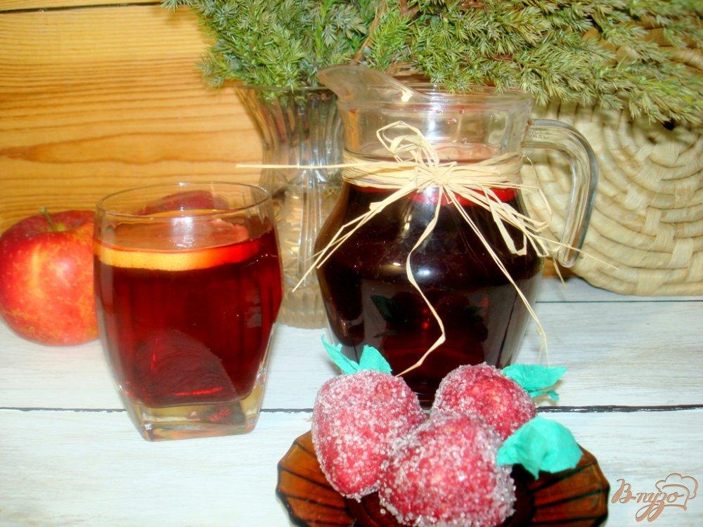 Фото приготовление рецепта: Чай каркаде с лимоном шаг №4
