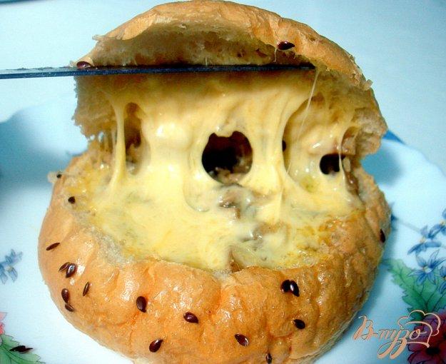 Рецепт Булочки с грибной начикой