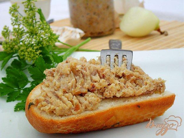 Рецепт Смалец с луком, яблоком и чесноком