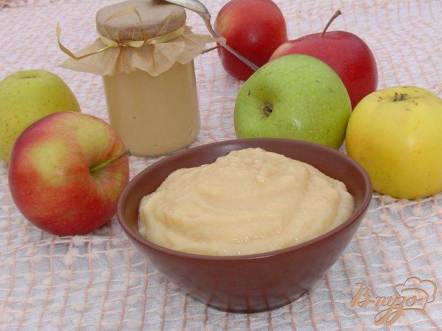 Рецепт Нежное яблочное пюре со сгущенным молоком