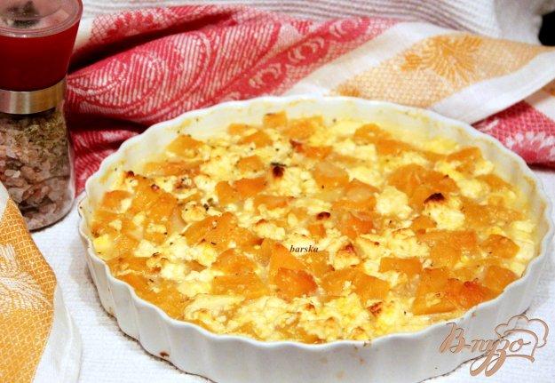 Рецепт Гарнир из тыквы и сыра Фета